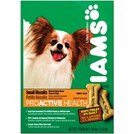 Iams ProActive Health Adult Small Biscuits Dog Treats, 2.6-lb box