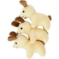 ZippyPaws Burrow Squeaky Hide and Seek Plush Dog Toy, Dog House, X-Large Refills