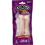 Dingo Naturals Large Chicken & Rawhide Dog Bone, 1 count