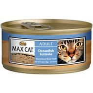 Nutro Max Adult Oceanfish Formula Canned Cat Food, 5.5-oz, case of 24
