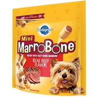 Pedigree Mini Marrobone Real Beef Flavor Biscuit Dog Treats, 15-oz bag