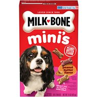 Milk-Bone Mini's Peanut Butter Flavor Variety Dog Treats, 15-oz box