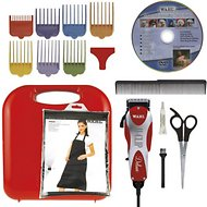 Wahl Deluxe U-Clip Dog & Cat Clipper Kit, Red