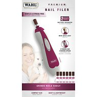 Wahl Premium Pet Nail Filer, Red