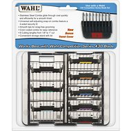 Wahl Stainless Steel Attachment Combs Kit for Detachable Blades, 8 count