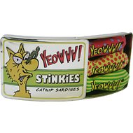 Yeowww! Stinkies Catnip Sardines Cat Toys, 3 count