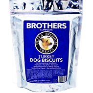 Brothers Complete Turkey Biscuits Dog Treats, 1-lb bag