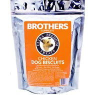 Brothers Complete Chicken Biscuits Dog Treats, 1-lb bag
