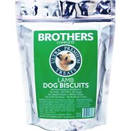 Brothers Complete Lamb Biscuits Dog Treats, 1-lb bag