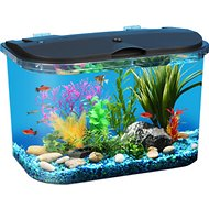 Koller Products Tropical Panaview Aquarium Starter Kit, 5-gallon