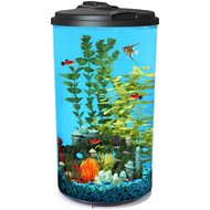 API Aquariums Tropical 360 View Aquarium Starter Kit, 6-gallon
