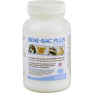 PetAg Bene-Bac Plus FOS & Probiotics Powder Supplement, 4.5-oz
