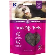 N-Bone Bacon Flavor Grain-Free Soft Ferret Treats, 3-oz bag