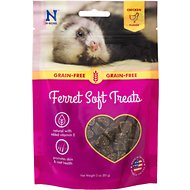 N-Bone Chicken Flavor Grain-Free Soft Ferret Treats, 3-oz bag