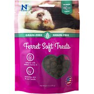 N-Bone Salmon Flavor Grain-Free Soft Ferret Treats, 3-oz bag