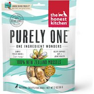 The Honest Kitchen Nice Mussels Blue & Green Mussels Dog Treats, 2-oz bag