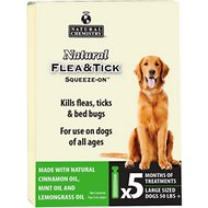 Natural Chemistry Natural Flea & Tick Squeeze-On for Dogs, Large