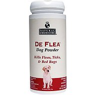 Natural Chemistry DeFlea Dog Powder, 6.88-oz jar