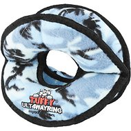Tuffy's Ultimate 4-Way Ring Dog Toy, Camo Blue