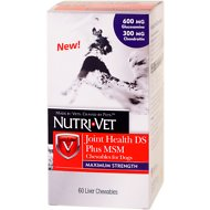 Nutri-Vet Joint Health Plus MSM Maximum Strength Dog Chewables, 60 count