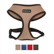 Puppia Soft Dog Harness A, Beige, Medium