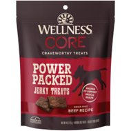 Wellness CORE Pure Rewards Grain-Free Beef Jerky Bits Dog Treats, 4-oz bag