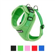 Puppia RiteFit Soft Dog Harness, Green, Medium