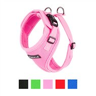 Puppia RiteFit Soft Dog Harness, Pink, Medium