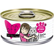 BFF Tuna & Bonito Be Mine Recipe in Aspic Grain-Free Canned Cat Food, 5.5-oz, case of 24