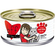 BFF Tuna Too Cool Recipe in Aspic Grain-Free Canned Cat Food, 5.5-oz, case of 24