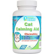 Particular Paws Calming Aid Cat Chews, 60 count