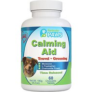 Particular Paws Calming Aid Dog Chewable Tablets, 60 count