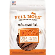Full Moon Chicken & Sweet Potato Dog Treats, 12-oz bag