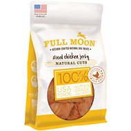 Full Moon Natural Cuts Sliced Chicken Jerky Dog Treats, 6-oz bag