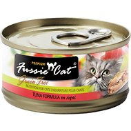 Fussie Cat Premium Tuna Formula in Aspic Canned Cat Food, 2.82-oz, case of 24