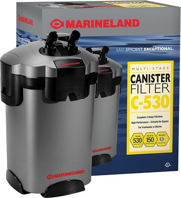 Marineland Multi-Stage Canister Filter, size C-530 - Chewy.com