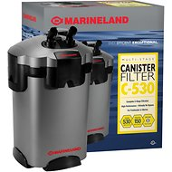 Marineland Multi-Stage C-530 Aquarium Canister Filter, 150-gal