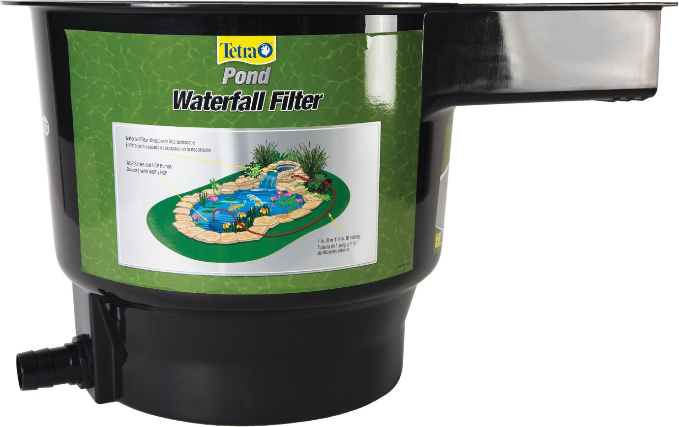 Tetra pond waterfall filter for Small pond filter