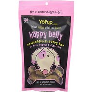 YoPup Happy Belly Biscuits Dog Treats, 7-oz bag