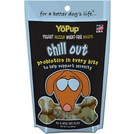 YoPup Chill Out Biscuits Dog Treats, 7-oz bag