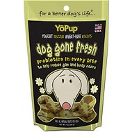YoPup Dog Gone Fresh Biscuits Dog Treats, 7-oz bag