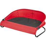 Gen7Pets Cool-Air Cot Pet Bed, Pathfinder Red, Large
