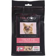 TruDog Treat Me Savory Salmon Diced Delight Freeze-Dried Raw Super Dog Treats, 2.5-oz bag