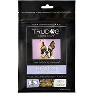 TruDog Treat Me Diced Bison Liver Treats Freeze-Dried Raw Super Dog Treats, 2.5-oz bag
