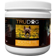 TruDog Soothe Me Skin & Coat Support Soft Chews Dog Treats, 60 count