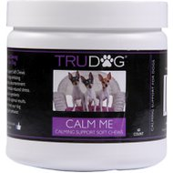 TruDog Calm Me Calming Support Soft Chews Dog Treats, 60 count