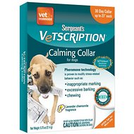 Sergeant's Vetscription 30 Day Dog Calming Collar, 1-ct