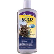 Sergeant's Gold Flea & Tick Cat Shampoo, 12-oz bottle