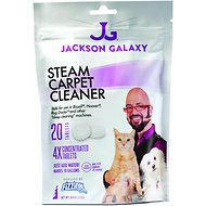 Jackson Galaxy Steam Carpet Cleaner Tablets, 20 count