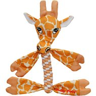 Jolly Pets Flathead Giraffe Dog Toy, Small